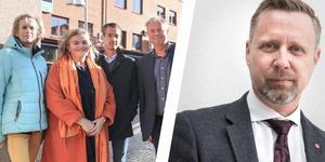 Nytt styre. Tidigare kommunalrådet Patrik Isestad (S) och det socialdemokratiska partiet går i opposition.