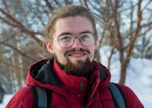 John Bäck, 19 år, studerande, Sundsvall