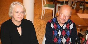 Åsa Malmström och Gunnar Wetterstrand.
