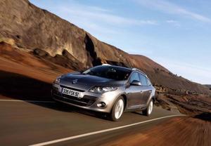 Nya Renault Mégane kombi får ett större lastutrymme. Foto: Renault