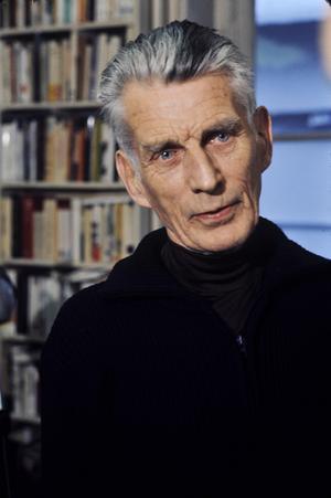 Samuel Beckett 1977. Foto: Roger Pic