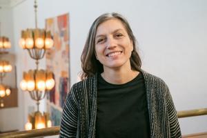 Inger Dalene, kyrkomusiker och körledare i Nynäshamns församling.