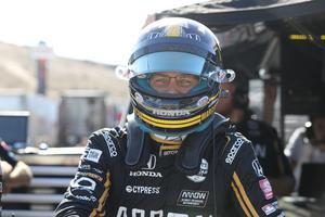Marcus Ericsson känner sig relativt säker på en framtid i Indycar, trots att debutsäsongen inte blev vad han hoppats på. Foto: Chris Jones/Indycar