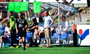 Tor-Arne Fredheim var på det stora hela nöjd, trots en svag första halvlek från hans VSK.