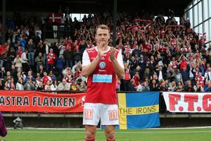 Leo Englund gjorde matchens första mål.
