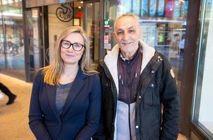 Gävlekändisen Kostas Zalahas och Gallerian Nians Maria Sörling gick med på att lura Gävleborna 2018.