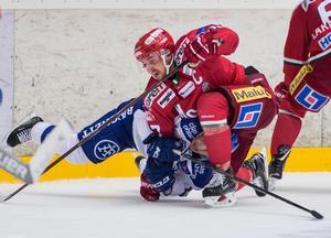 Leksand och Modo är två av de största klubbarna i hockeyallsvenskan. Foto: Erik Mårtensson / Bildbyrån
