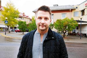 Marino Wallsten (S), ordförande i kommunstyrelsen. Bild: Linnea Wahlsten.