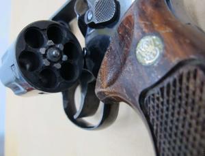 Mordvapnet. Polisens bild.