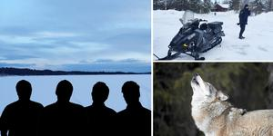 Fyra män är misstänkta för inblandning i det misstänkta jaktbrottet vid sjön Amungen. Två av dem är häktade på sannolika skäl.