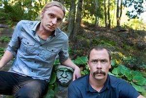 Martin Schibbye och Johan Persson.Foto: Lars Pehrson / SvD / SCANPIX