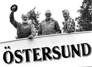 Pelle Lundh, Edmund Atleström och Albin Andersson var några av de ideella föreningsmedlemmarna som jobbat med att få