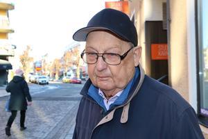 Peter Jacobsson, Norrtälje: – Jag har haft mycket nytta av vården här i Norrtälje, den fungerar mycket bra. Och så har jag nära till den.