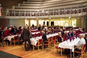 Jubileumsfirandet lockade många festsugna besökare.