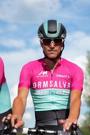 Jesper Larsson har cyklat på elitnivå i drygt 15 år.