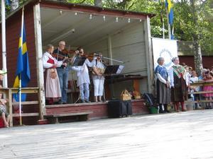 Nyble allspel stod för musiken. Foto: Privat