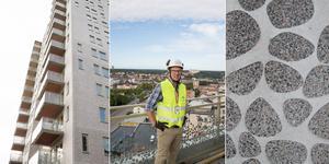 Följ med Anders Binett och LT upp i Södertäljes nya landmärke – det 15 våningar höga hyreshuset på Stockholmsberget.