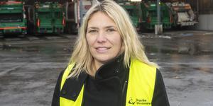 – I så fall måste vi hitta någon annan som kan ta hand om vårt matavfall, säger Anna-Karin Karlsson, förbundsdirektör på Gästrike återvinnare, apropå konkurshotet mot dotterbolaget Gästrike ekogas.
