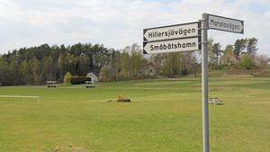 Idrottsplatsen i Stora Vika.