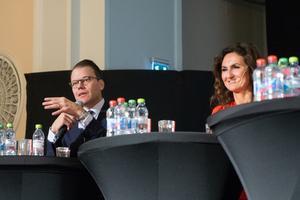 Prins Daniel och Gunilla von Platen brinner båda för att inspirera fler att bli företagare.
