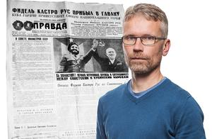 Debattören jämför LT:s politiske redaktör Tomas Karlsson med reportrarna på Sovjetunionens husorgan Pravda.