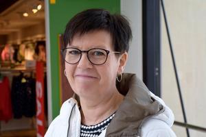 Erica Holm, 54, säljare, Gnarp: