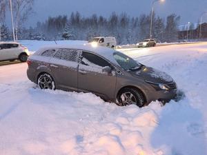 Stora problem i trafiken i Falun under onsdagsmorgonen.