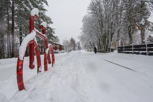 I framtiden kan det bli möjligt att surfa in på kommunens sida för att se om snöröjarna plogat just din cykelväg.
