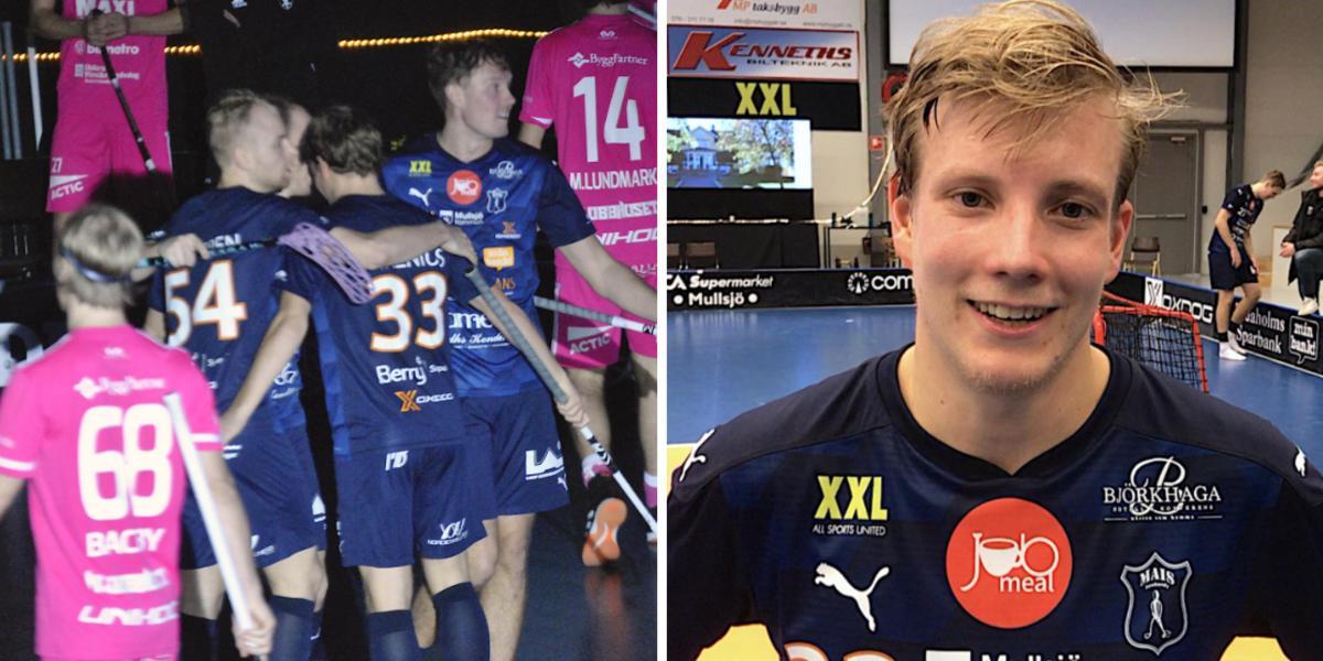 """Pelle Tarenius lyfte igen – öste in poäng mot Falun: """"Jätteskönt"""""""