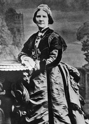 Jenny Lind i äldre år. Hon sjöng för drottning Victoria, Felix Mendelssohn skrev musik för henne och HC Andersen var förälskad i henne. Hon sjöng ver hela världen och drog flera tusen människor i publik även i USA.