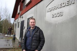 Anders har ett stort projekt på gång inne i hönshuset och det kommer vara klart inom en snar framtid.