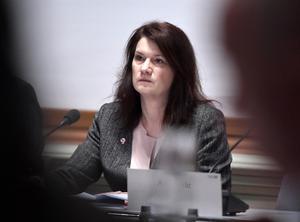 Ann Linde hade ansvar för regeringens krishantering. Ändå ignorerade hon Säpos varningar om säkerhetsläckan på Transportstyrelsen. Foto: Janerik Henriksson.