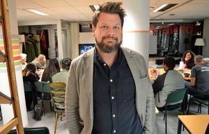Rikard Rudolfsson, V-ordförande i Borlänge, hade hoppats på ett bättre lokalt valresultat.