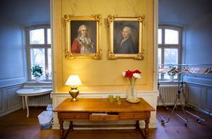 Sparre och Gyldenstolpe – två av de landshövdingar som verkat i slottet.