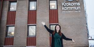 Malin Bergman (C), kommunalråd i Krokom, formulerar sin politiska drivkraft: