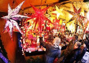 En bra julmarknad är en julmarknad som man inte behöver följa med till. Åtminstone i Stigbjörns värld. Foto: TT