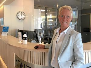 Anneli Andersson har bland annat varit med och byggt kommunens kontaktcenter som invigdes 2018