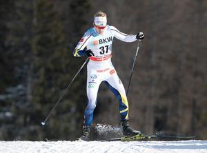 Oskar Svensson var bäste svensk på en 15:e plats. Bild: TT
