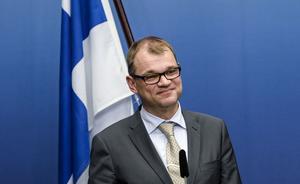 Finlands statsminister Juha Sipilä.