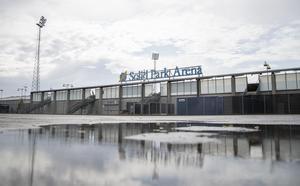 Det blev ingen liverapportering från Solid Park Arena på fredagen.  Foto: Anders Forngren/Bildbyrån