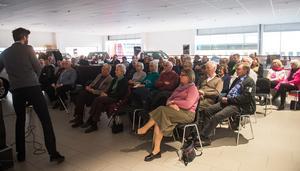 Frågestunden var en del av årsmötet.