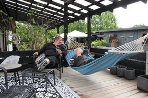 Hit kan man komma och bara mysa och ta det lugnt, säger Eva Perpåls och Anette Jonsson Sundell.
