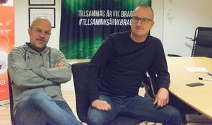Magnus Olsson, till vänster, och Ola Lundin.