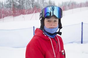 """""""Det är underbart att åka här"""" säger Erik Norberg, 13 år, från Lit."""