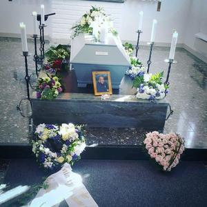 Daniel Saukkoriipis begravning hölls i kretsen av de närmaste. Bild: Privat