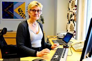 Nina Fållbäck-Svensson, sjukhusdirektör i Landstinget Västernorrland.