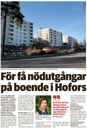 Arbetarbladet 18 april.