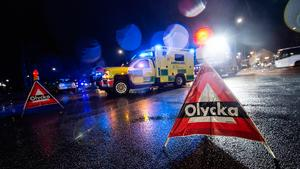 JUST NU: Bil körde på älg på 151:an – trafik delvist avstängd