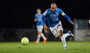 Salif Camara Jönsson ska göra målen i Trelleborg. Foto: Andreas Hillergren / TT