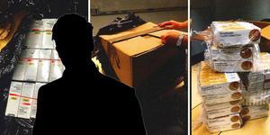 Fotomontage med bilder från polisens förundersökningsprotokoll.